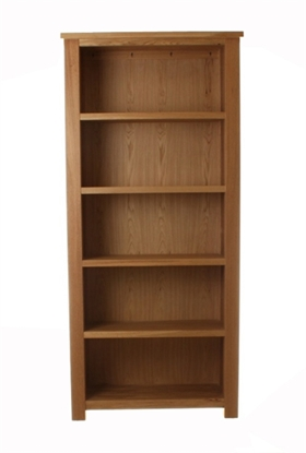Picture of Aston Oak Large Open Bookcase