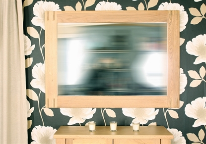 Picture of Aston Oak Wall Mirror