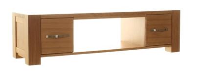 aston solid oak hidden aston oak widescreen television cabinet sofauk tv stand