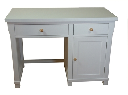 Picture of Hampton Single Pedestal Computer Desk