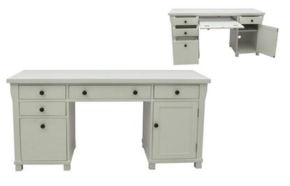 Picture of Hampton Twin Pedestal Computer Desk