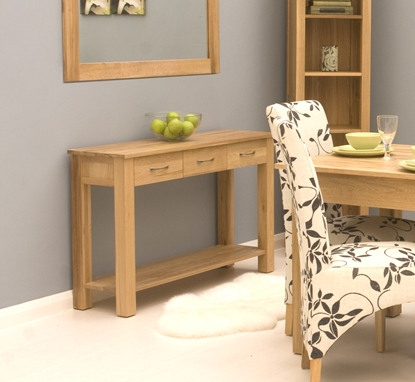 Picture of Mobel Oak Console Table