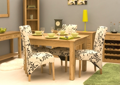 Picture of Mobel Oak Dining Table (4 Seater)