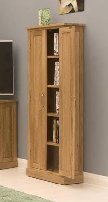 Picture of Mobel Oak DVD Storage Cupboard