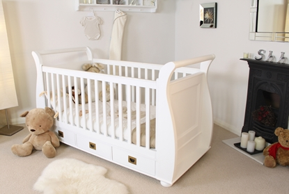 Picture of Nutkin Cot-Bed with Three Drawers