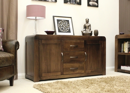 Picture of Shiro Walnut Large Sideboard