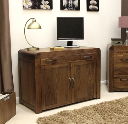 Picture of Shiro Walnut Hidden Home Office