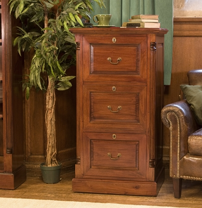 Picture of La Roque Three Drawer Filing Cabinet