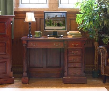 Picture of La Roque Single Pedestal Computer Desk