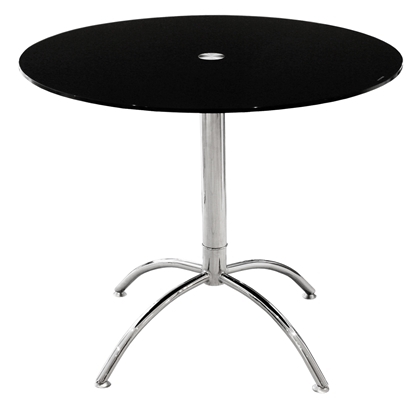 Picture of 90cm Luna Dining Table (Black)