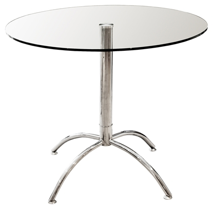 Picture of 90cm Luna Dining Table (Clear)