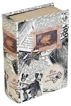 Picture of Butterfly Newspaper Box 22 x 16 x 7cm