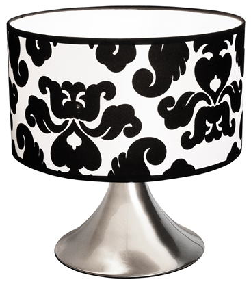 Picture of Black And White Shade Lamp