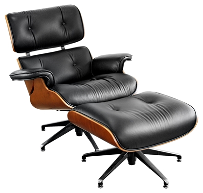 Picture of Leather Executive Chair and stool