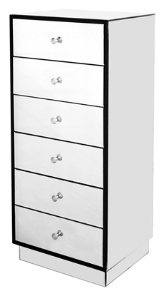 Picture of Mirrored Chest of Draws