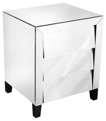 Picture of Mirrored Bedside Table