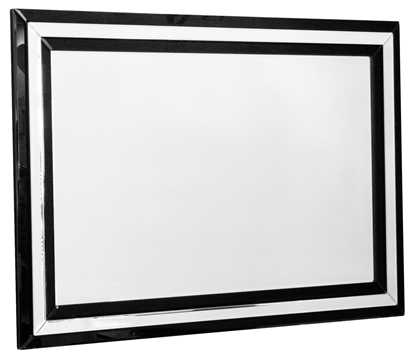 Picture of Black Borders Mirror