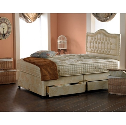 Picture of Highgrove Affinity pure silk mattress Divan Set