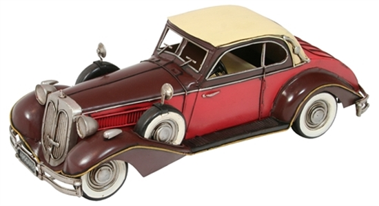 Picture of Red & Brown Rolls Royce